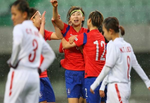 VL thứ 3 môn bóng đá nữ Olympic Rio 2016, Hàn Quốc – Việt Nam: 4-0