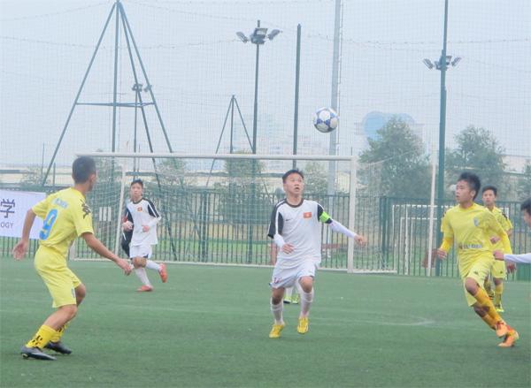Khai mạc giải bóng đá giao hữu U15 – Cúp Lotus 2016: Dự tuyển U15 QG xuất quân thắng lợi