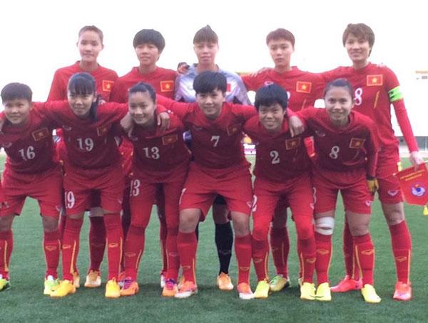 BXH FIFA quý I/2016: ĐT nữ Việt Nam xuống hạng 35 thế giới