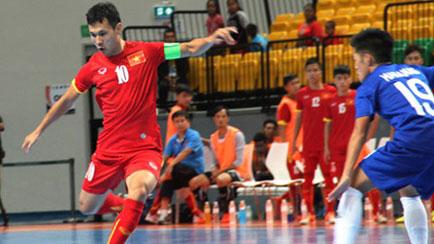 Lịch thi đấu Giải vô địch Futsal Đông Nam Á 2016