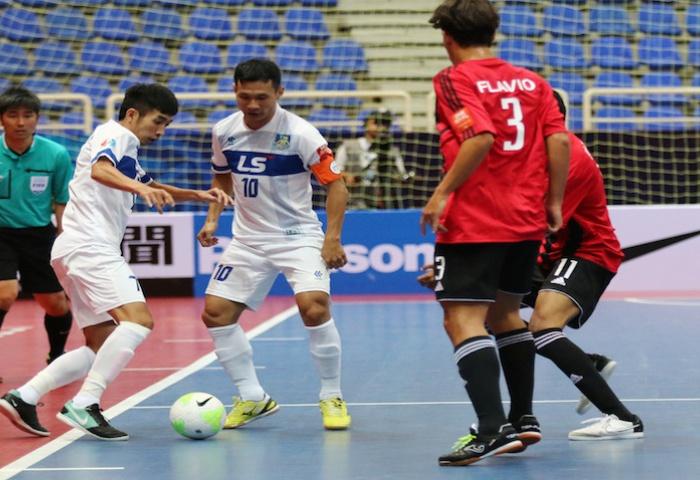 Lịch thi đấu giải giao hữu các CLB Futsal Đông Nam Á 2016