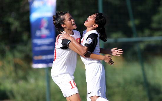 Ngày 3/5, Đội tuyển U14 nữ Quốc gia tập trung chuẩn bị giải châu Á khu vực ĐNA 2016