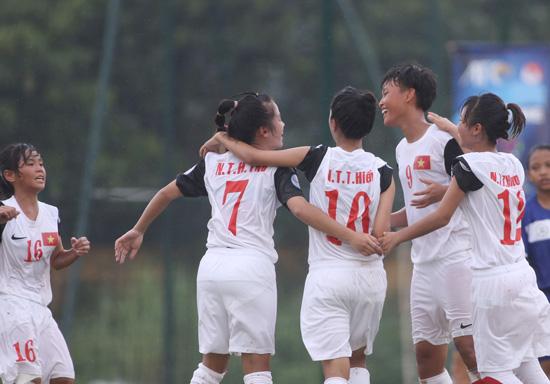 Danh sách chính thức ĐT U14 nữ QG tập trung chuẩn bị tham dự Giải U14 châu Á- khu vực ĐNÁ 2016