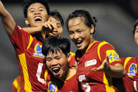 """Cuộc thi """"Đồng hành cùng Giải bóng đá nữ VĐQG  – Cúp Thái Sơn Bắc 2016"""""""