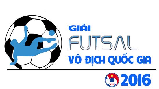 Danh sách đăng ký thi đấu lượt về giai đoạn 2 Giải Futsal VĐQG 2016