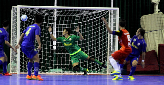 Ảnh dự thi đợt 2 Đồng hành cùng giải Futsal VĐQG 2016:
