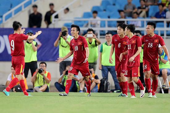 Lịch thi đấu của ĐT Việt Nam tại AYA Bank Cup 2016