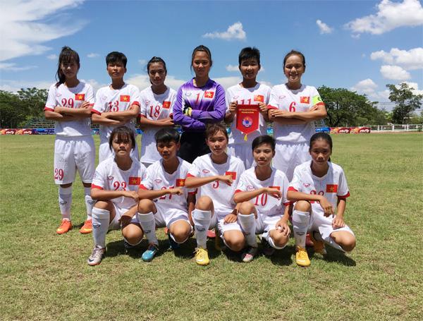 Giải bóng đá U14 nữ châu Á 2016 - khu vực ĐNA: Việt Nam gặp Thái Lan tại bán kết