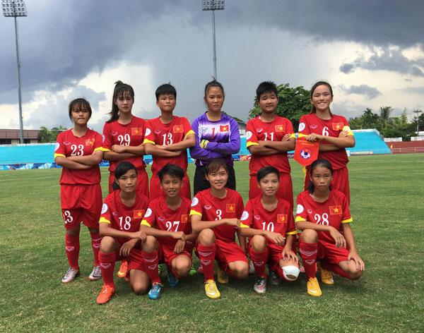 Bán kết 1 giải U14 nữ châu Á 2016 – khu vực ĐNA: Tuyển Việt Nam lỡ cơ hội bảo vệ ngôi vô địch
