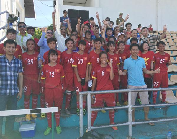 Việt Nam giành huy chương Đồng giải U14 nữ châu Á 2016 – khu vực ĐNA