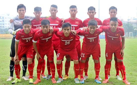 Danh sách ĐT U16 Việt Nam tập trung đợt 2/2016 (tham dự giải U16 AFF)