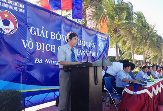 Khai mạc giải bóng đá bãi biển VĐQG 2016: Sanest Tourist Khánh Hòa và Đà Nẵng khởi đầu thuận lợi