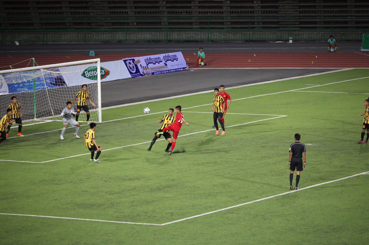 Giải bóng đá U16 Đông Nam Á 2016 (10/7): Đội tuyển U16 Việt Nam thắng trận mở màn