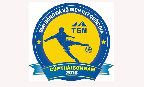 Lịch thi đấu VCK giải vô địch U17 QG- Cúp Thái Sơn Nam 2016