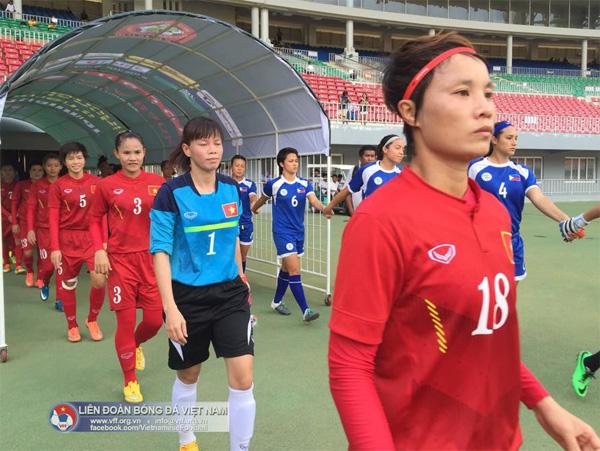 AFF nữ 2016 (28/7): Thắng Philippines 4-0, tuyển Nữ Việt Nam chắc suất vào bán kết