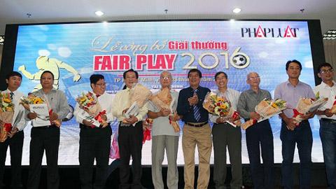 Giải thưởng fair play 2016 mở rộng phạm vi bầu chọn
