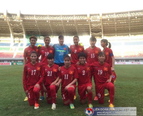 AFF nữ 2016 (30/7): Thắng Thái Lan 2-0, Việt Nam nhất bảng A