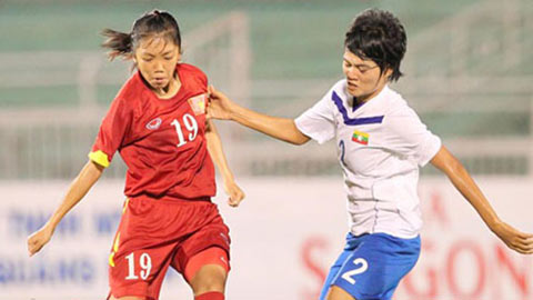 ĐT nữ Việt Nam gặp chủ nhà Myanmar ở bán kết giải nữ ĐNÁ