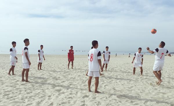 ĐT bóng đá bãi biển Việt Nam hội quân, hướng tới ABG 2016