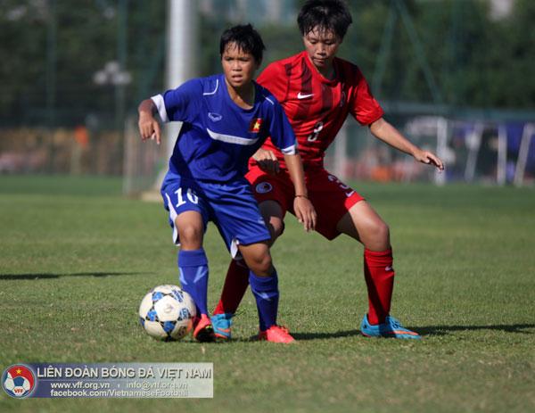 Đấu tập (8/8), Đội tuyển U16 nữ Quốc gia - U18 nữ Hồng Kông: 3-0