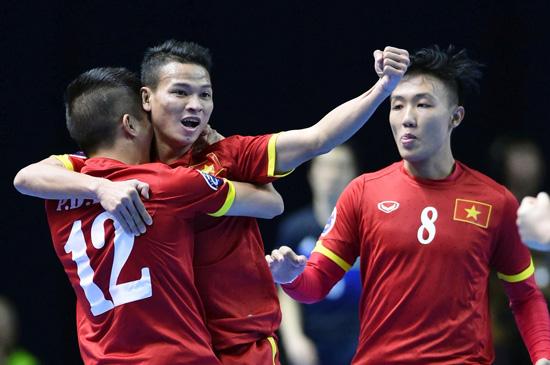 Lịch thi đấu của ĐT Futsal Việt Nam tại Bảng C- VCK FIFA Futsal World Cup 2016