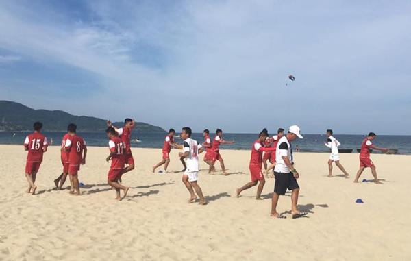 ĐT bóng đá bãi biển Việt Nam chốt danh sách dự giải giao hữu tại Trung Quốc