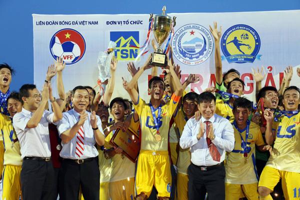 Đồng Tháp vô địch Giải U17 QG- Cúp Thái Sơn Nam 2016