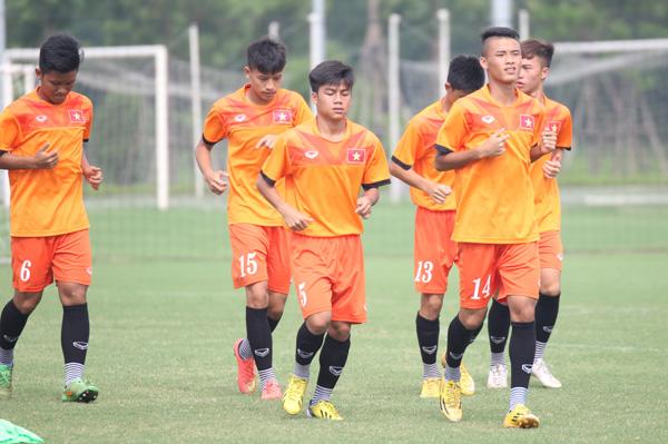 Danh sách ĐT U16 QG tập trung chuẩn bị tham dự VCK U16 châu Á 2016