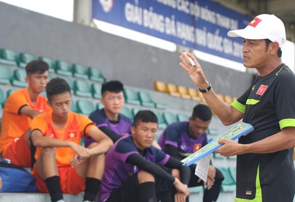 ĐT U16 QG hội quân chuẩn bị cho VCK U16 châu Á 2016