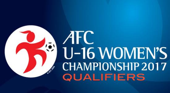 Điều chỉnh giờ thi đấu các trận tại VL bảng D giải bóng đá U16 nữ châu Á 2017