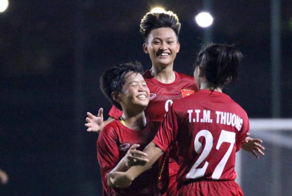 VL giải U16 nữ châu Á 2017: Thắng Iraq 3-0, Việt Nam vững ngôi nhì bảng D