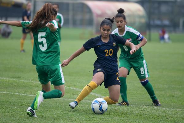 VL bảng D giải bóng đá U16 nữ châu Á 2017: Australia tiếp tục vững ngôi đầu