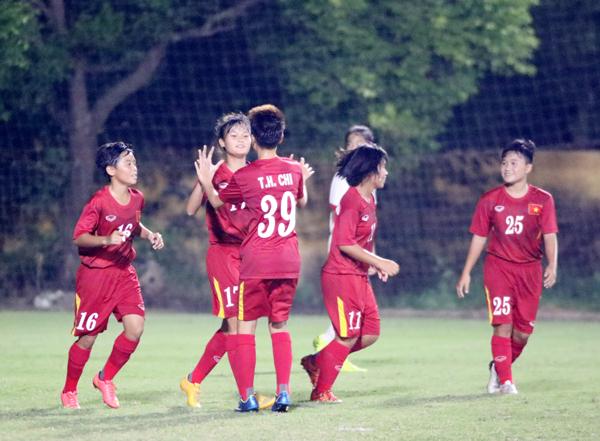 Việt Nam chia tay VL giải U16 nữ châu Á 2017 bằng trận thắng 5-0 trước Hồng Kông (TQ)