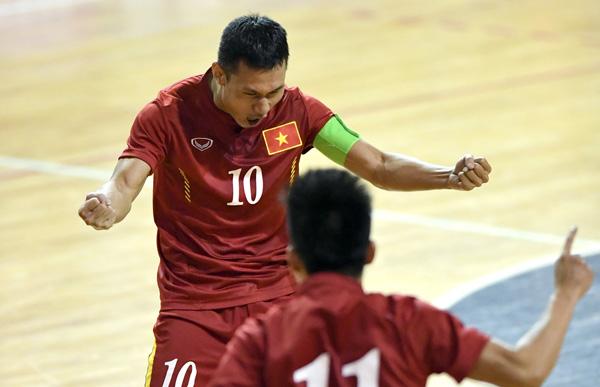 ĐT Futsal Việt Nam gây ấn tượng trong trận tái đấu với Argentina