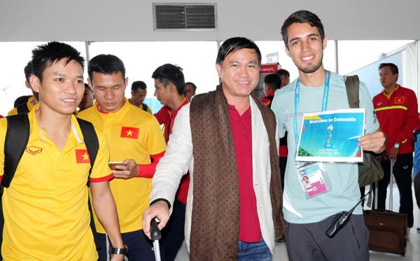 Đến Colombia, Tuyển Futsal Việt Nam sẵn sàng cho thử thách lớn