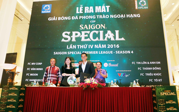 Saigon Special Premier League - season 4 lên sóng trực tiếp trên VTVgo và NCM