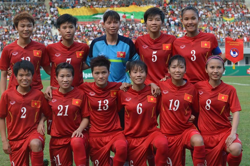 BXH FIFA quý III/2016: Đội tuyển nữ Việt Nam giữ nguyên thứ hạng 34