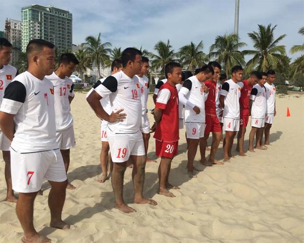 Danh sách ĐT bóng đá bãi biển Việt Nam tham dự ABG 5