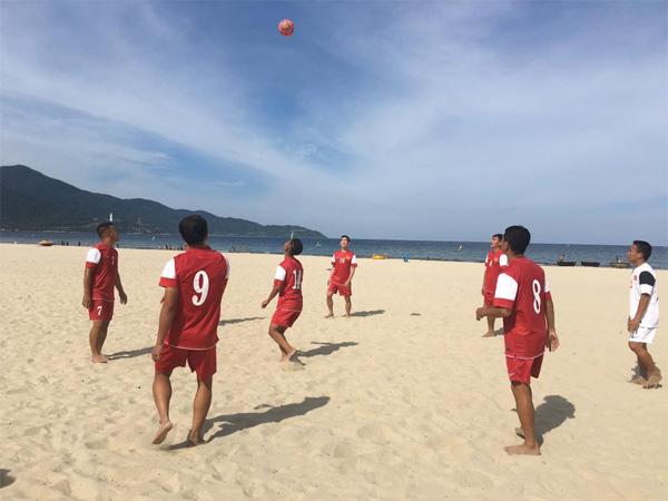 Đội tuyển bãi biển Việt Nam sẵn sàng cho Đại hội thể thao bãi biển châu Á – ABG 5