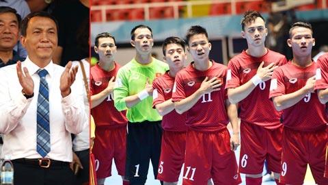 """Phó chủ tịch VFF Trần Quốc Tuấn: """"Futsal Việt Nam sẽ phát triển hơn nữa"""""""