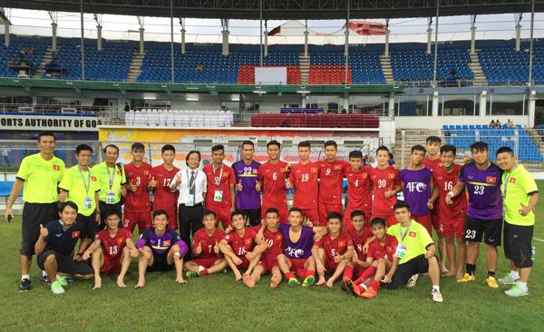 Sáng mai (27/9), ĐT U16 Việt Nam về tới Hà Nội