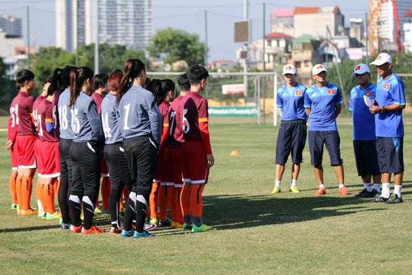 Danh sách ĐT U19 nữ Quốc gia tập trung chuẩn bị vòng loại châu Á 2017