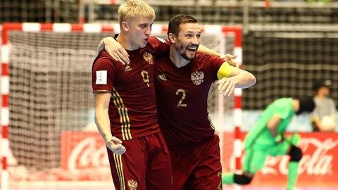 Nga chặn đứng hiện tượng Iran, tiến thẳng chung kết Futsal World Cup