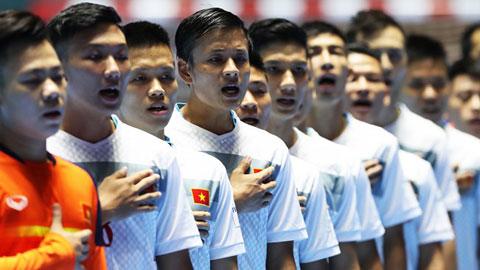 Danh sách ĐT Futsal QG tập trung chuẩn bị tham dự Giải vô địch Đông Nam Á 2016