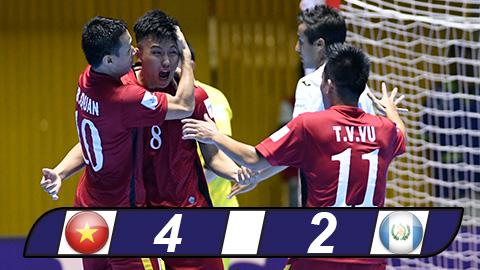 Bàn thắng của Minh Trí đẹp thứ nhì FIFA World Cup futsal 2016
