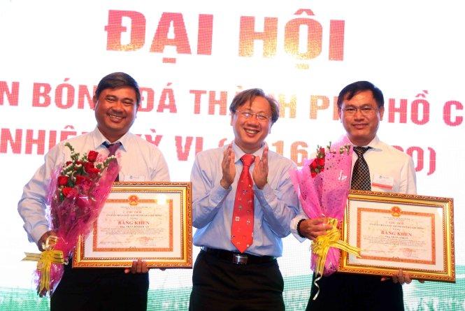 Ông Trần Anh Tú tái đắc cử chủ tịch LĐBĐ TP.HCM (HFF) nhiệm kỳ VI