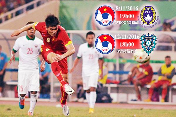 PHÁT HÀNH VÉ 2 TRẬN GIAO HỮU QUỐC TẾ: ĐT VIỆT NAM VS. ĐT INDONESIA VÀ ĐT VIỆT NAM VS. CLB AVISPA FUKUOKA