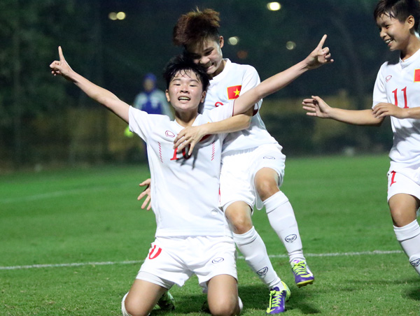 Bảng D - VL U19 nữ châu Á 2017: Thắng Iran 2-0, Việt Nam giành vé dự VCK