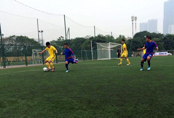 Khai mạc giải bóng đá hạng Ba Quốc gia 2016