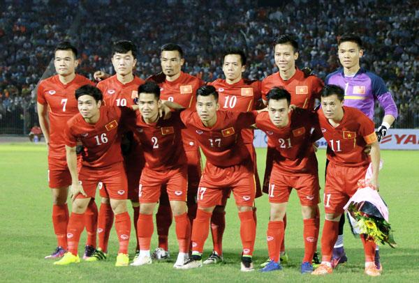 Danh sách 25 cầu thủ ĐTQG Việt Nam sang Myanmar tham dự AFF Suzuki Cup 2016